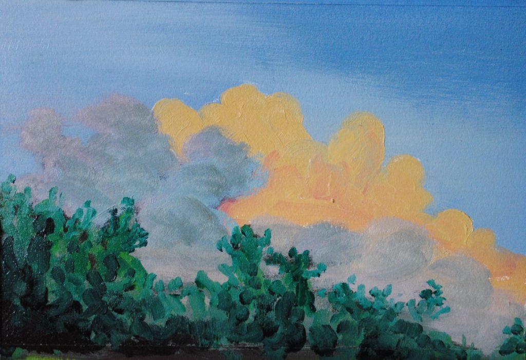 sky, landscape